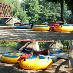 Tubing, Canoeing and Swimming in the Pemigewasset River